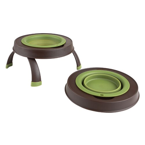 Single Elevated Pet Feeder