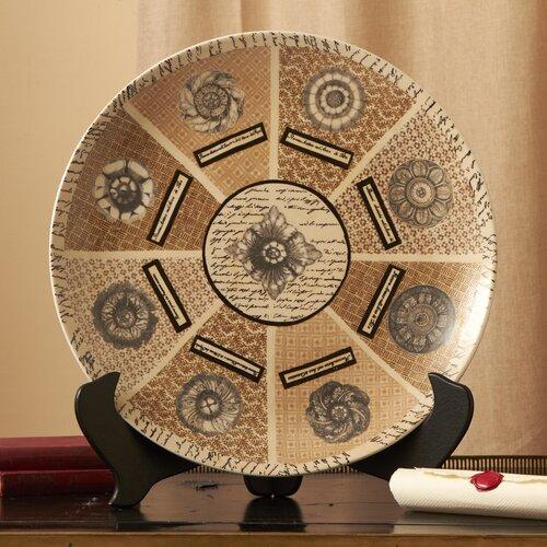 Via Santo Spirito Large Decorative Platter with Stand