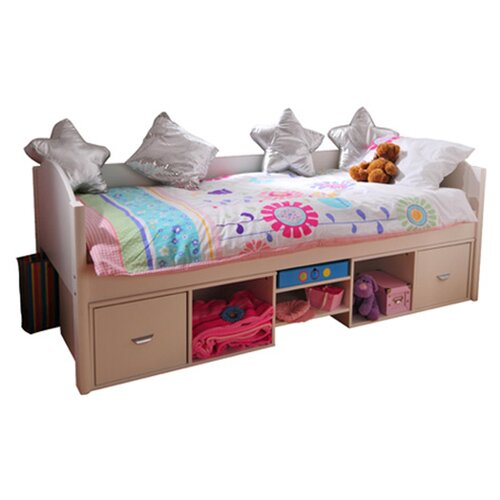 Solo Single Bed Frame With Underbed Storage Wayfair Uk