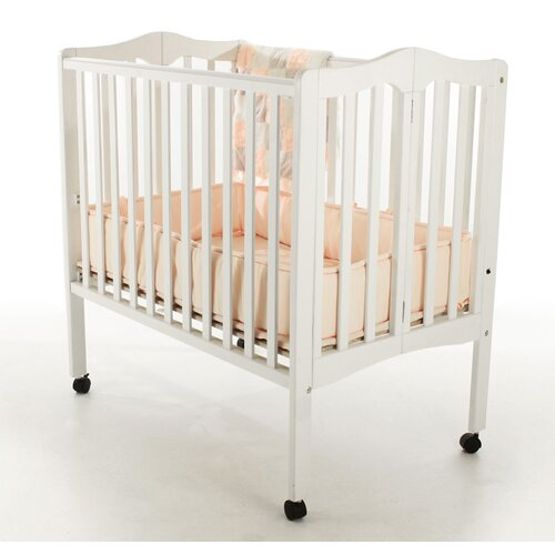 Dream On Me Portable Lightweight Folding Convertible Crib