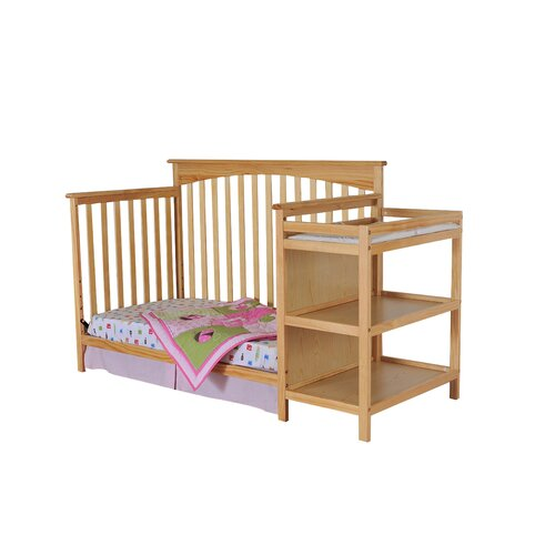Dream On Me Chloe Convertible Crib with Changer
