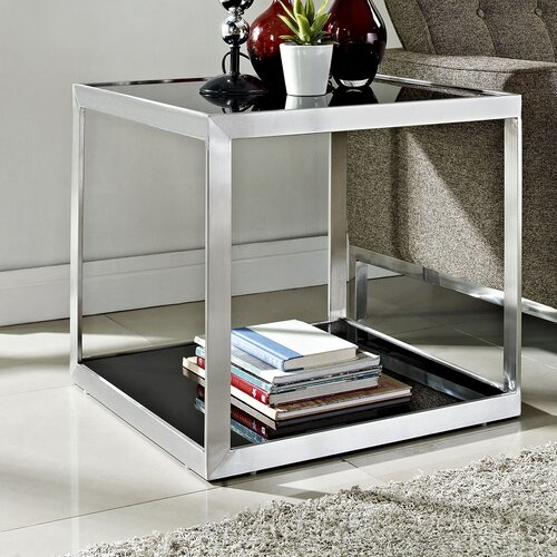 Open Box End Table