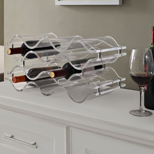 Modway Reserve 10 Bottle Tabletop Wine Rack
