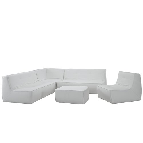 Align Leather Sectional