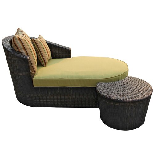 Ellenium 2 Piece Chaise Lounge Set with Cushion
