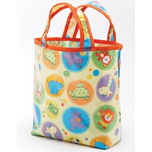 Zoo Animals Sunday Tote Diaper Bag