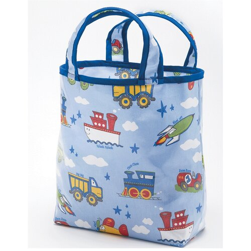 Planes, Trains, Autos Sunday Tote Diaper Bag