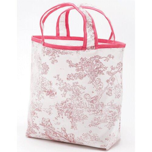 Toile Sunday Tote Diaper Bag