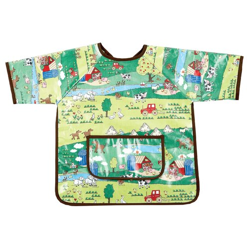 AM PM Kids! Barnyard Art Smock
