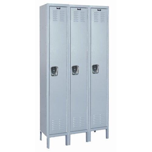 Hallowell MedSafe Locker Single Tier 3 Wide (Knock-Down)