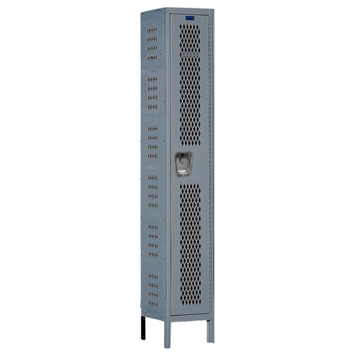 Hallowell Heavy-Duty 1 Tier 1 Wide Ventilated Locker