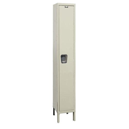 Hallowell Maintenance-Free Quiet Locker Single Tier 1 Wide (Assembled) (Quick Ship)