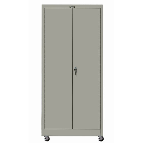 "Hallowell 400 Series 36"" Mobile Solid Storage Cabinet"