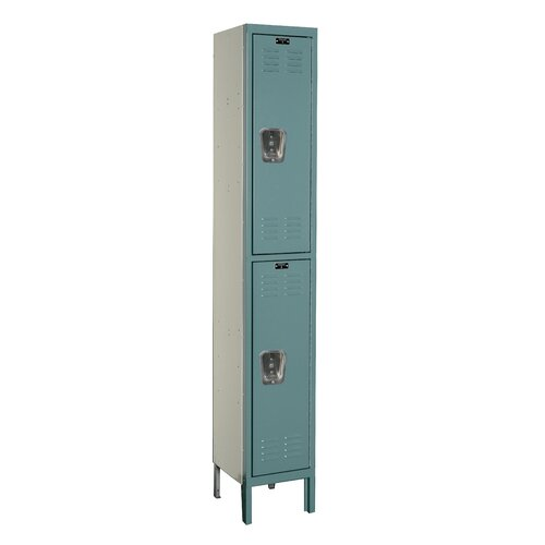 Hallowell Premium 2 Tier 1 Wide Knock-Down Locker