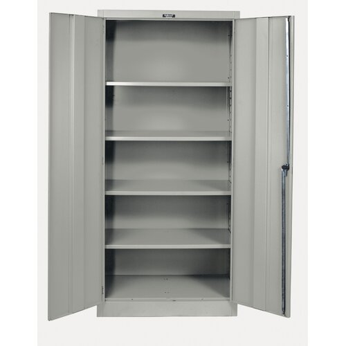 "Hallowell 400 Series 48"" Stationary Solid Storage Cabinet"