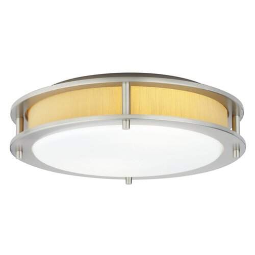 Hart Lighting Beautility 2 Light Flush Mount