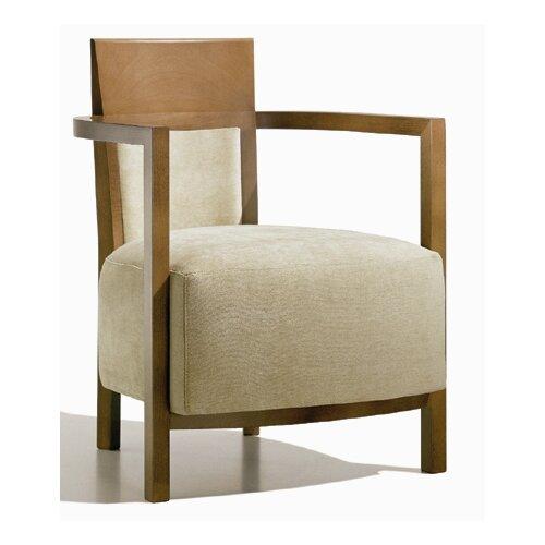 "Andreu World Lounge-Sessel ""Ritmika"" mit gepolsterter Rückenlehne"