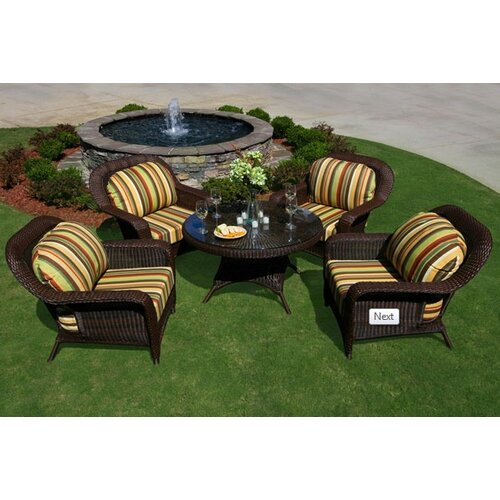 Tortuga Outdoor 5 Piece Conversation Seating Group