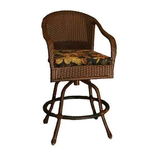 Tortuga Outdoor Lexington Barstool with Cushion