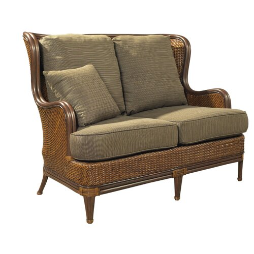 Outdoor Palm Beach Loveseat with Cushions