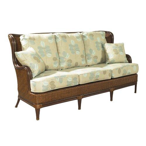 Outdoor Palm Beach Sofa with Cushions