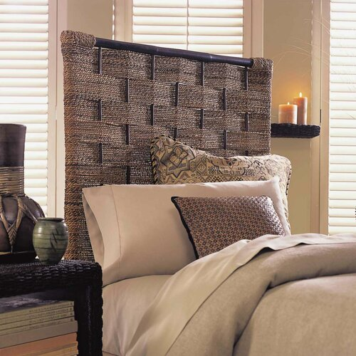 Padmas Plantation Abaca Weave Panel Headboard