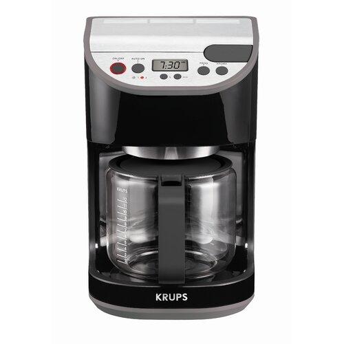 Krups Precision 12 Cup Carafe Coffee Machine