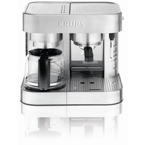 Krups Combo Coffee/Espresso Maker & Reviews Wayfair
