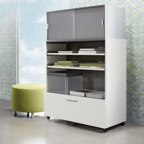 Steelcase Turnstone 1-Drawer Tour Pile File