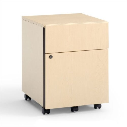2-Drawer Mobile Classic Payback Box/File Pedestal