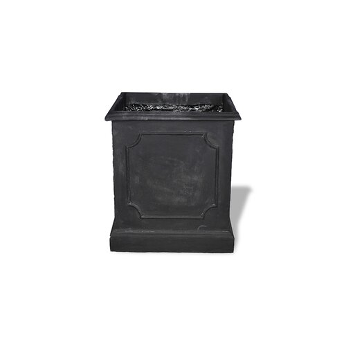 Amedeo Design ResinStone Paneled Square Planter