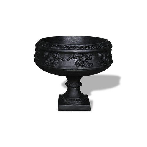 ResinStone Medieval Pedestal Urn