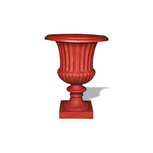 Amedeo Design ResinStone Classic Ribbed Urn