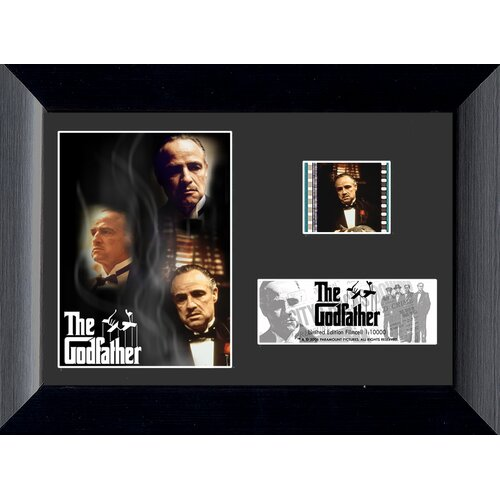 The Godfather Mini FilmCell Presentation Framed Memorabilia