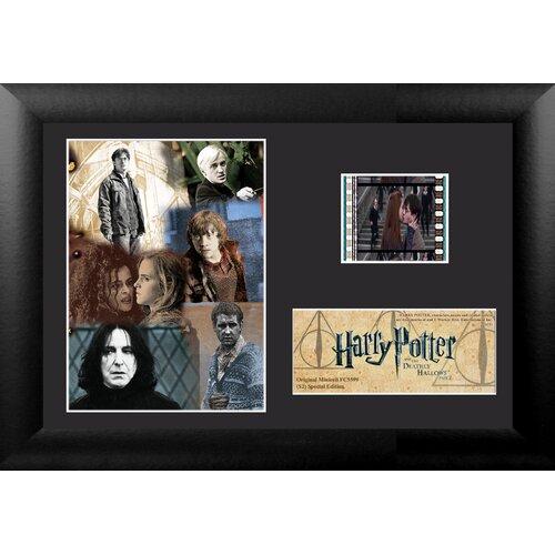 Trend Setters Harry Potter 7 Part 2 Mini FilmCell Presentation Framed Memorabilia