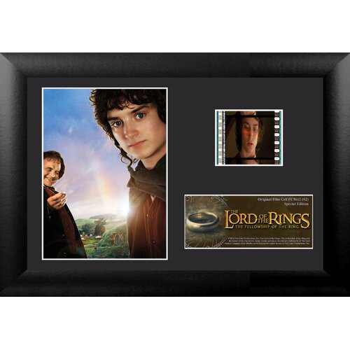 Trend Setters Lord of the Rings: Fellowship of the Ring Mini FilmCell Presentation Framed Memorabilia