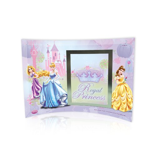 Disney Princesses (Royal Princess) Curved Glass Print with Photo Frame