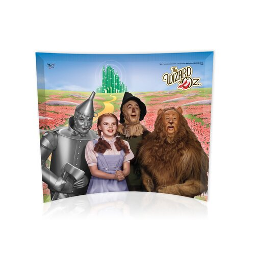 Trend Setters Wizard of Oz (Emerald City) Graphic Art Plaque