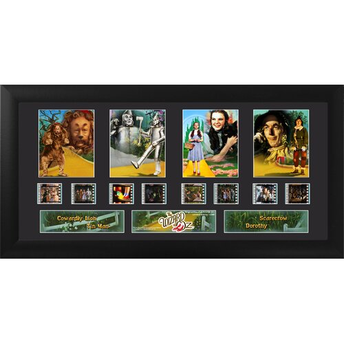 Trend Setters Wizard of Oz Quad FilmCell Presentation Framed Memorabilia