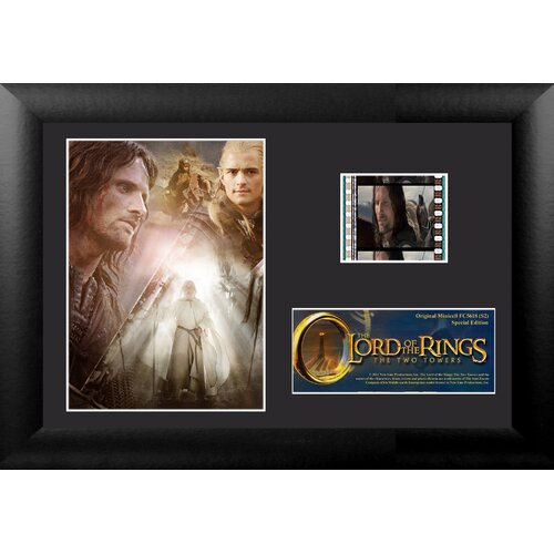 Trend Setters Lord of the Rings: The Two Towers Mini FilmCell Presentation Framed Memorabilia