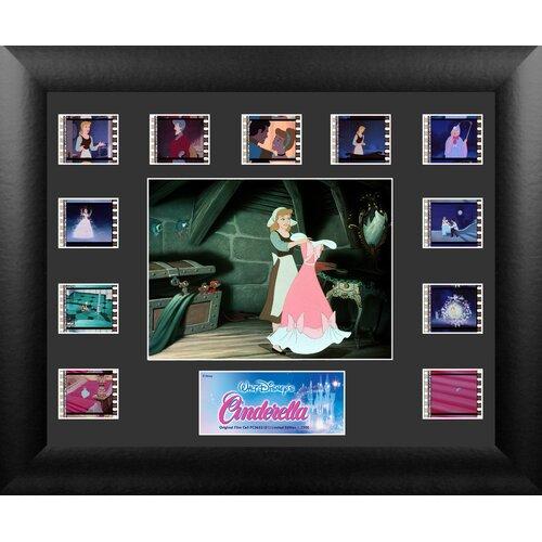 Cinderella Mini Montage FilmCell Presentation Framed Memorabilia