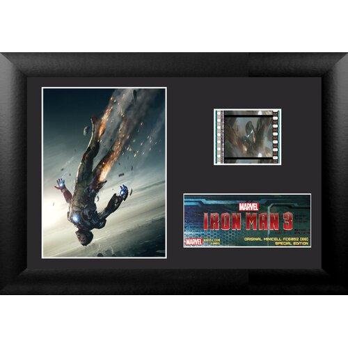 Iron Man 3 Mini FilmCell Presentation Framed Memorabilia
