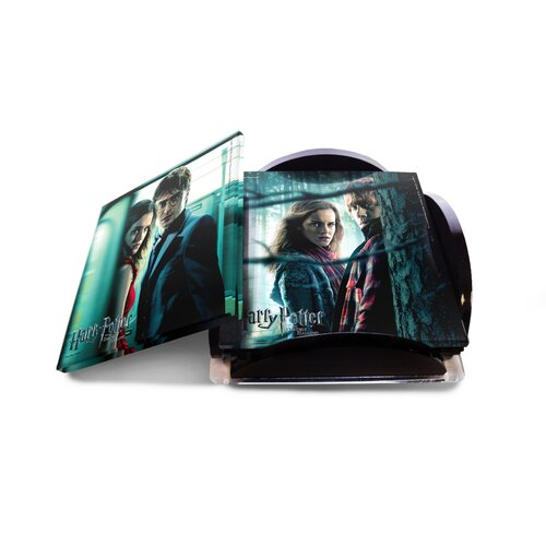 Trend Setters Harry Potter 7 Glass Print Coaster