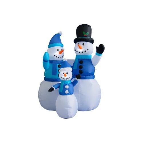 4 ft. Snowmen Family Decoration
