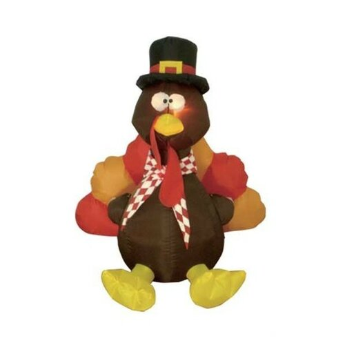 Inflatable Turkey Thanksgiving Decoration