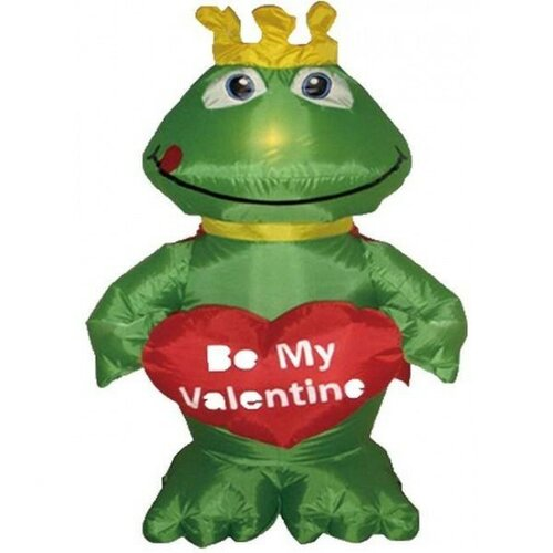 BZB Goods Valentine's Day Inflatable Frog Prince Decoration