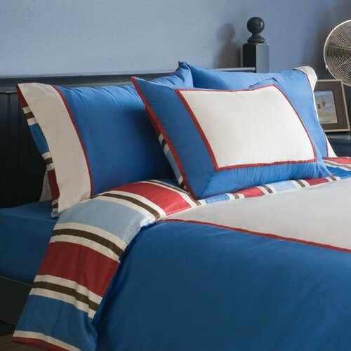 zicci bea Chambray 5 Piece Duvet Cover Set