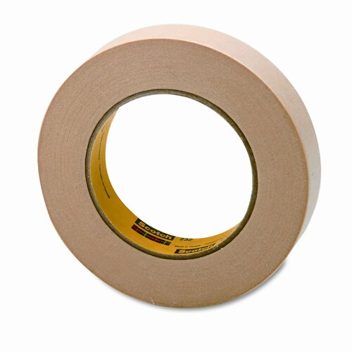 "3M High-Performance Masking Tape, 1"" x 60 Yards, 3"" Core"