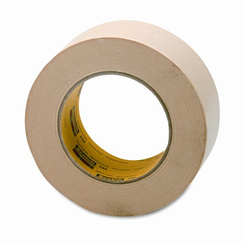 "3M High-Performance Masking Tape, 2"" x 60 Yards, 3"" Core"