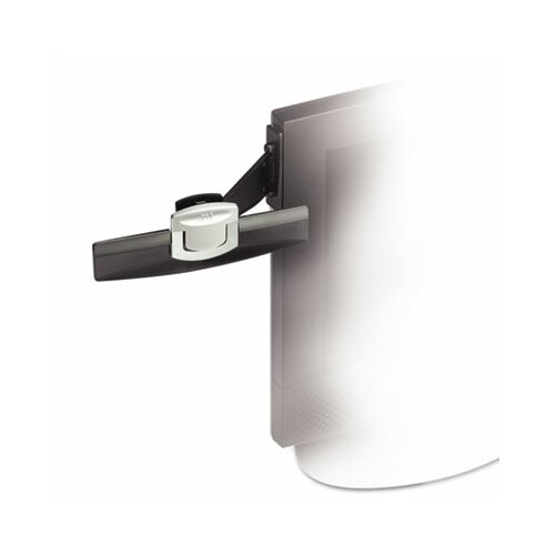 3M Swing Arm Copyholder, Adhesive Monitor Mount, Plastic, 30 Sheet Capacity